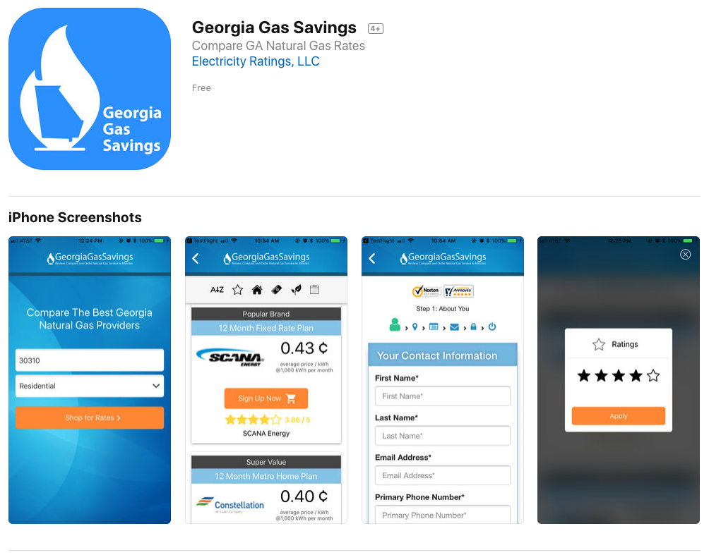 Natural Gas Providers In Atlanta Georgia